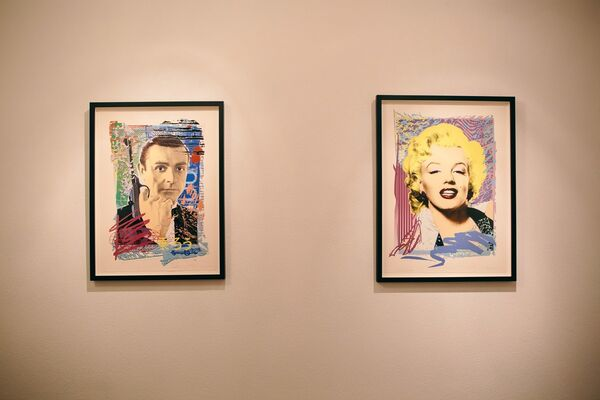 The Art of The Pop Portrait, installation view
