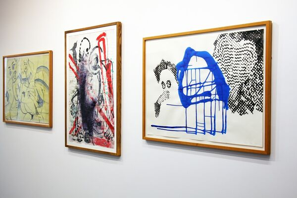 Redefining Paint- Germany and Austria Since 1970, installation view