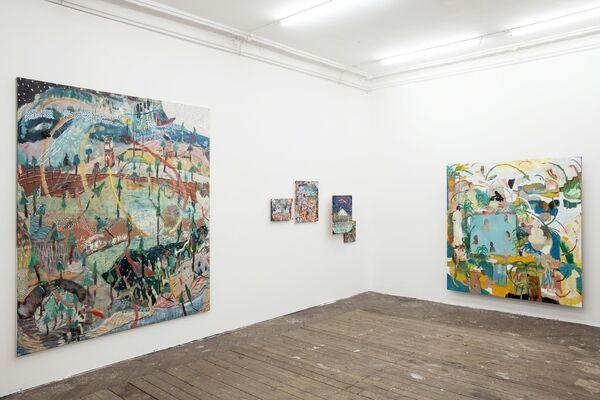 Tom Anholt: History Boy, installation view