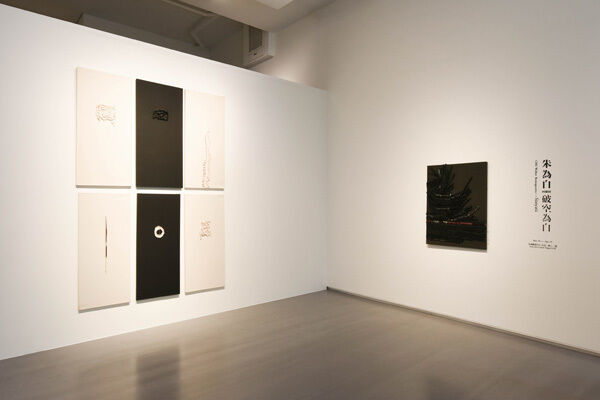 Śūnyatā : Retrospective of CHU Weibor, installation view