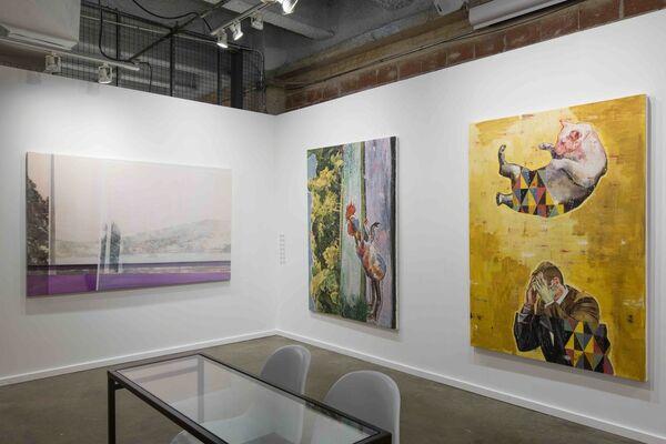 Taymour Grahne at Dallas Art Fair 2016, installation view