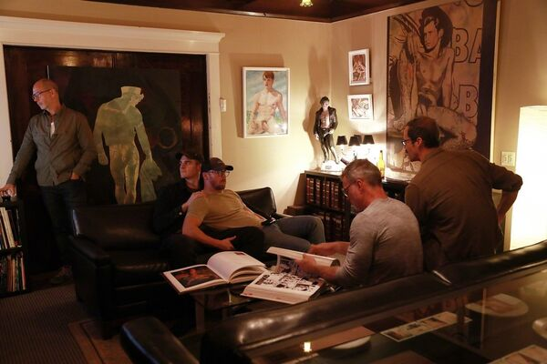 Secret Gay Box at the Tom of Finland Foundation, installation view