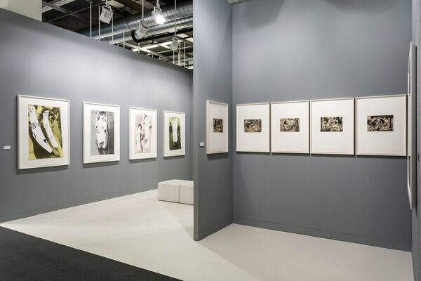 Two Palms at Art Basel 2016, installation view