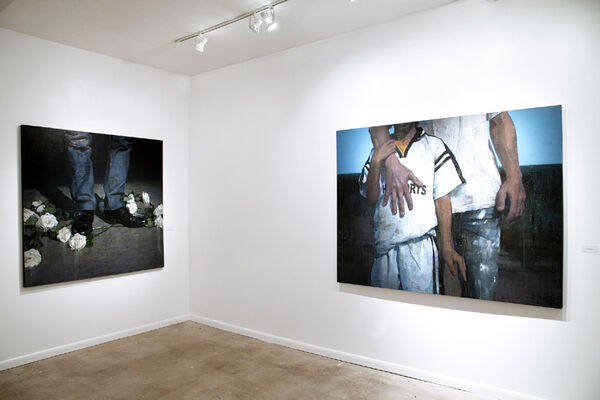 François Bard   The Paths of Glory, installation view