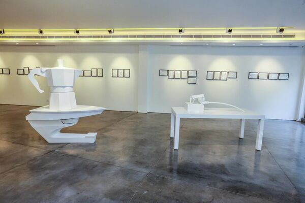 Portmanteau, installation view