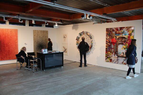 Mario Mauroner Contemporary Art Salzburg-Vienna at SCOPE Basel 2016, installation view