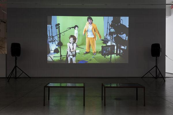 "Alex bag - ""The Van (Redux)*"", installation view"