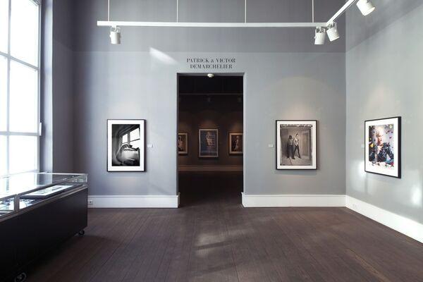 Patrick & Victor Demarchelier, installation view