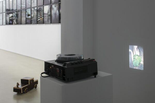 La Vigie (extraits), Paris, 2004-2011 / Plant, Paris, 2002 / Contre-ciel, Paris, été 2005 / La victoire de Bercy, Paris, mai 2007 / Stomac, San Rafael-Tlaquepaque, 2018, installation view