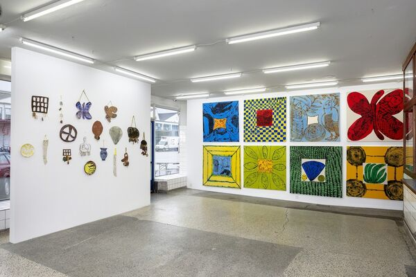I Saw Two Suns, installation view