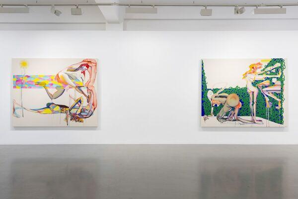 Christina Quarles: Always Brightest Before Tha Dusk, installation view