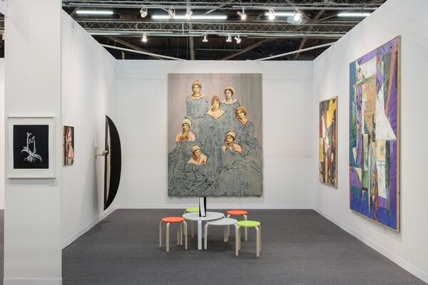 Bugada & Cargnel at The Armory Show 2016, installation view