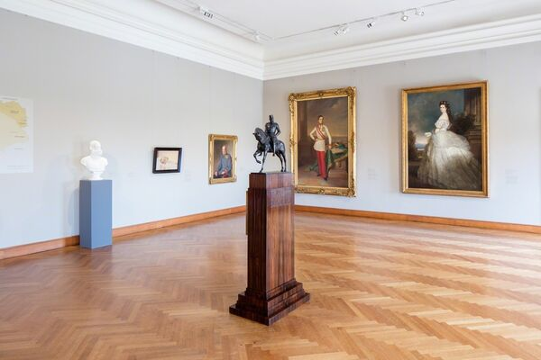 Franz Joseph. The Emperor and the Belvedere, installation view