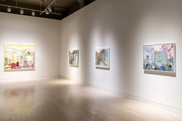 Jane Irish: A Rapid Whirling on the Heel, installation view