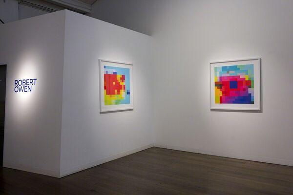 Robert Owen, installation view
