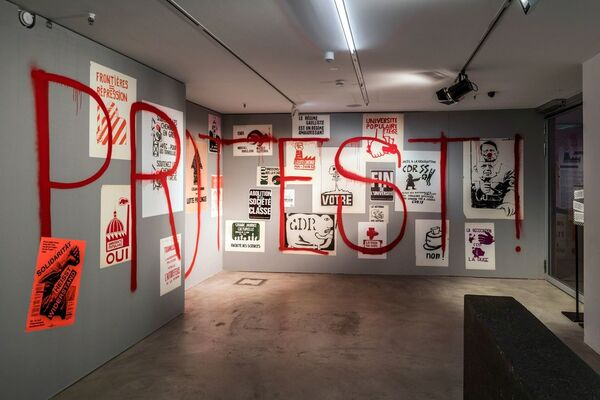 Protest! Resistance Posters, installation view
