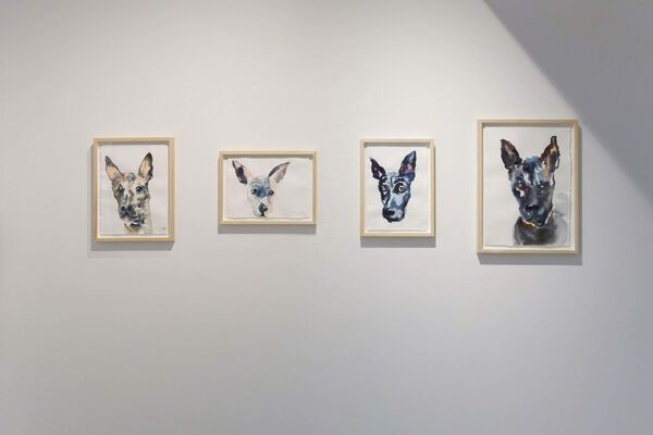 Tracing the past - An insight into Thai contemporary art -, installation view