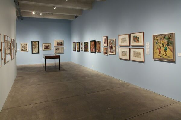 Pearlstein, Warhol, Cantor: From Pittsburgh to New York, installation view