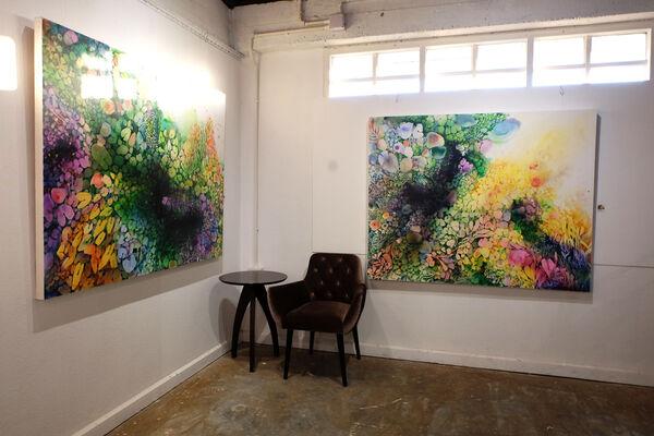Supmanee C's Journey in Art, installation view