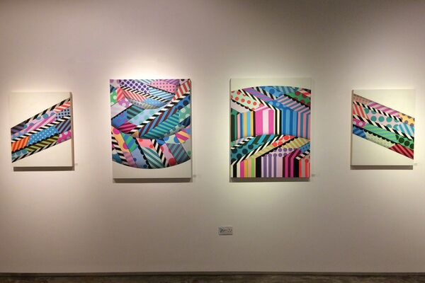 Strike Me With Your Lightning, installation view