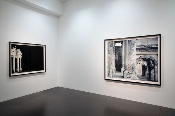 """Axel Hütte """"Traces of Memory"""", installation view"""