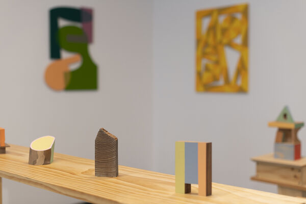 Structure and Space, installation view