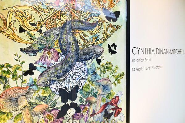 Cynthia Dinan-Mitchell: Botanical Bend, installation view
