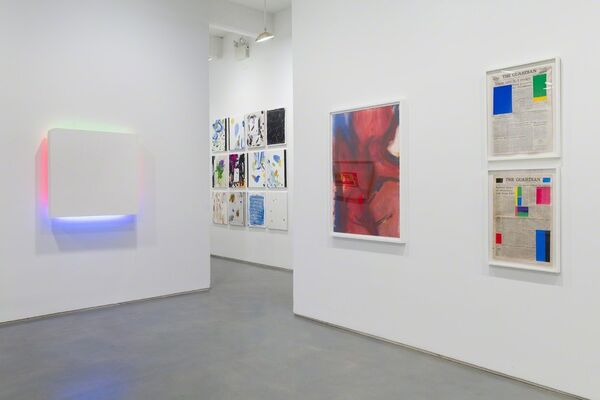Speaking Through Paint: Hans Hofmann's Legacy Today, installation view