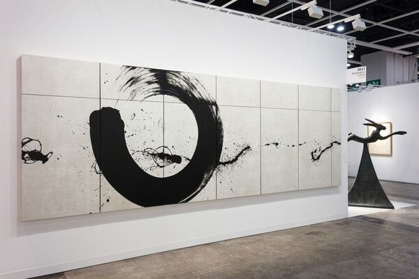 Waddington Custot at Art Basel in Hong Kong 2017, installation view