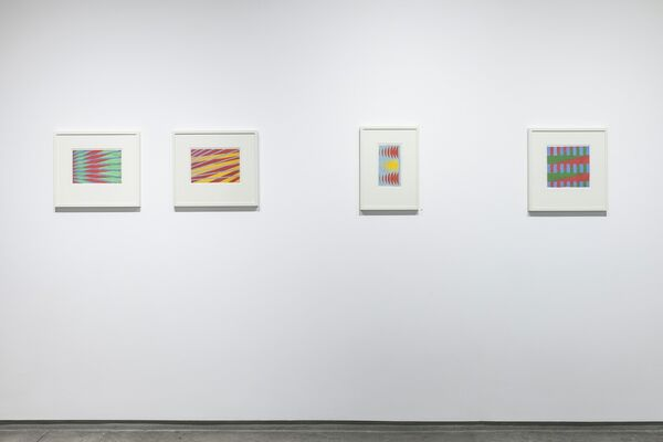 Michael Kidner - Works on Paper, installation view