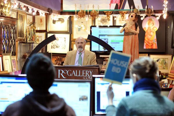 August Fine Art Auction, installation view