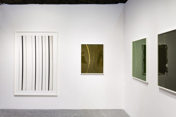Peter Freeman, Inc. at The Art Show 2019, installation view
