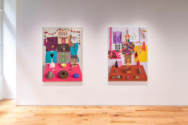 Altar-ed Bodies, installation view