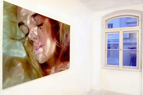 `Silent Waters´ Reisha Perlmutter & Eunjung Seo // oil on canvas, installation view