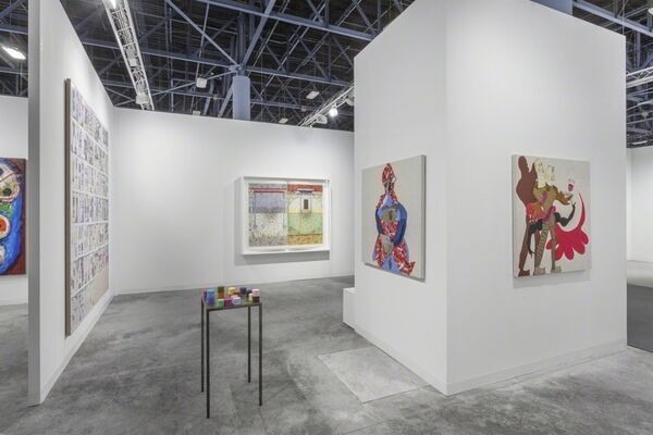 Pilar Corrias Gallery at Art Basel in Miami Beach 2016, installation view