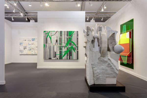 Lehmann Maupin at Frieze Los Angeles 2020, installation view
