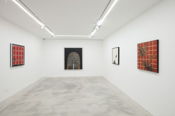 SCANAVINO. Works 1968-1986, installation view