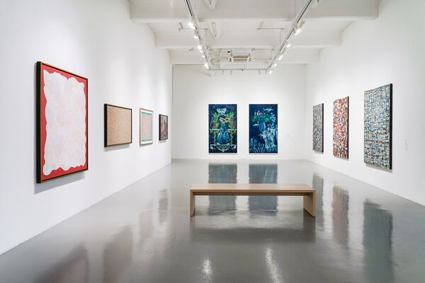 Rooted in Bali, installation view