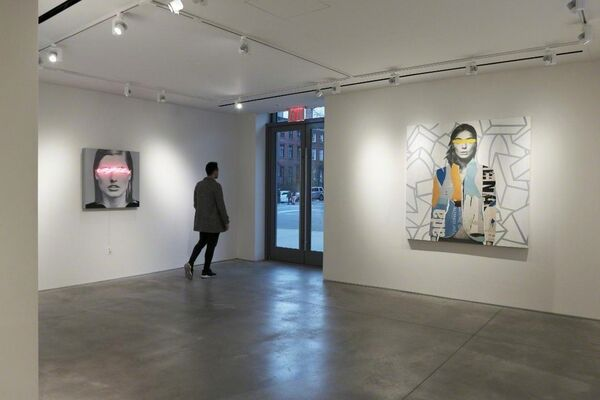 Javier Martin: Blindness The Appropriation of Beauty, installation view