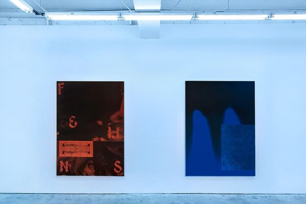 Sayre Gomez: Feelings II, installation view