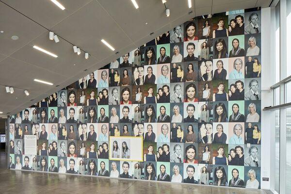 Gillian Wearing, installation view