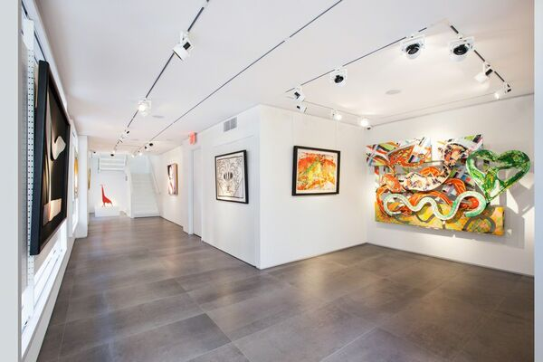 Grand Opening: New York City, Madison Avenue, installation view