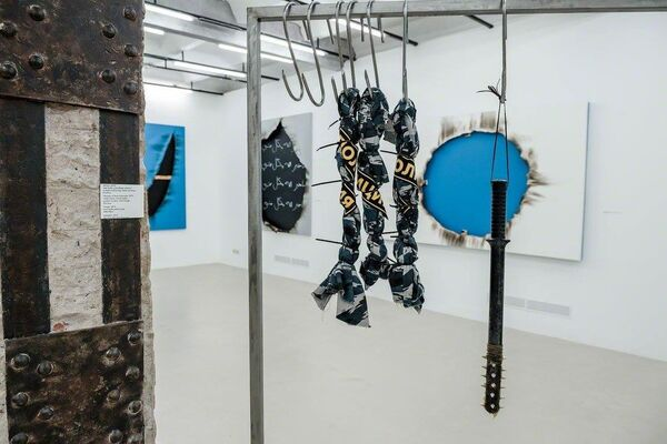 """ZAK Kaghado """"The Laws of Chaos and the End of Illusion"""", installation view"""