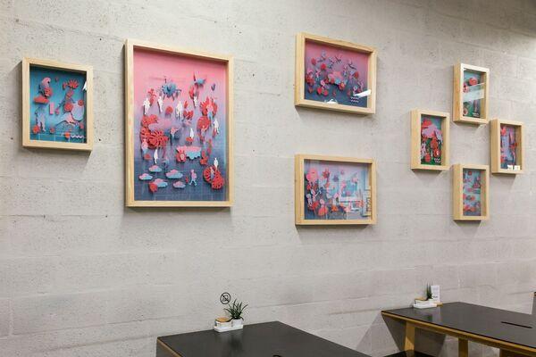 Contos Tropicais (Tropical Tales), installation view