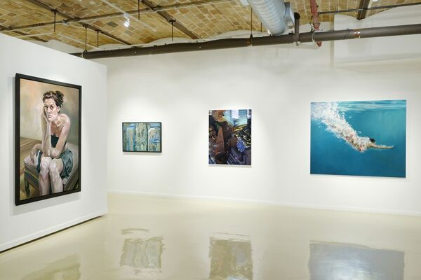 Summer Show, installation view
