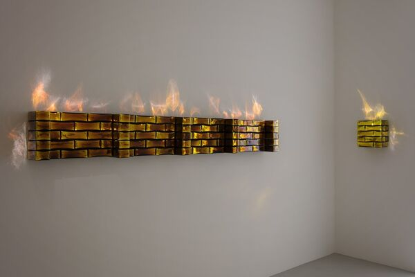 "JEAN-MICHEL OTHONIEL ""ORACLES"", installation view"