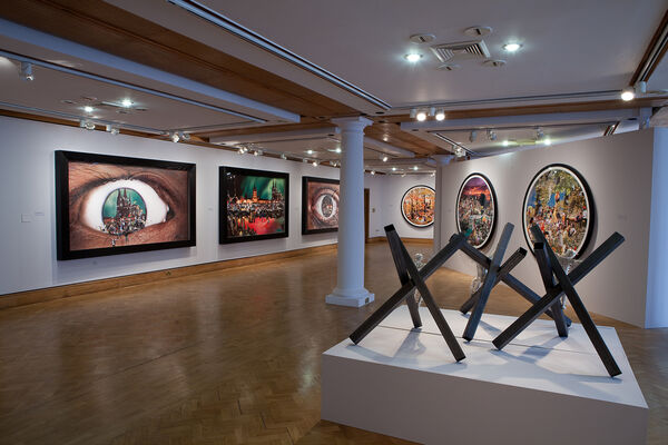 David Mach: Precious Light, installation view