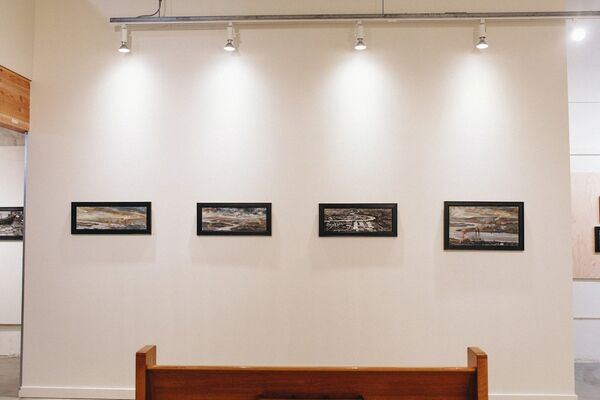 Proto-Fetishist Paintings - Paul James Cunningham, installation view