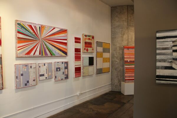 ONE THIRD WHITE, installation view