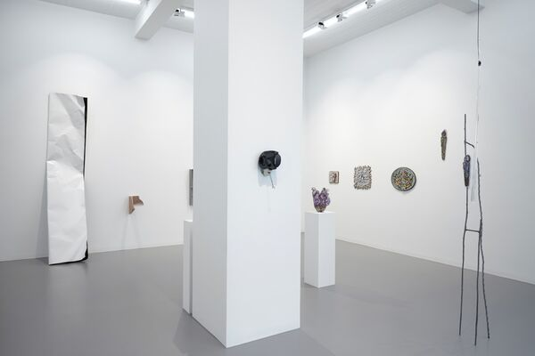 Seeing Believing Having Holding, installation view